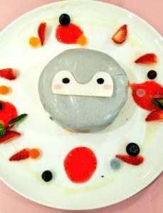 コウペンちゃんパンケーキ画像