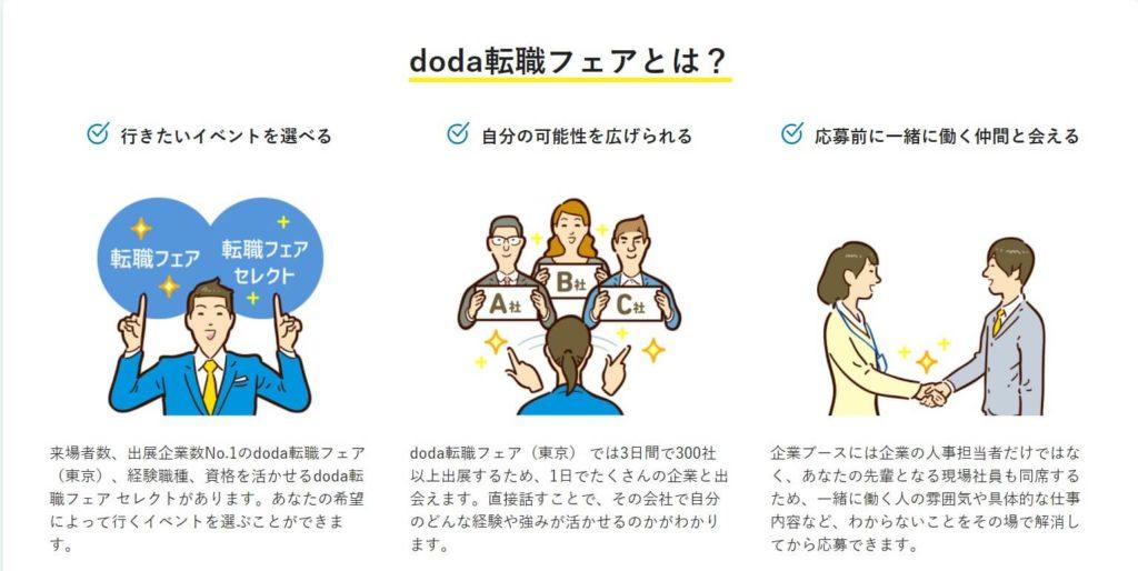 doda デューダ 転職フェア セミナー